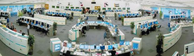 A glimpse inside the Swanwick control centre