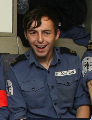 Able Seaman Ryan Donovan