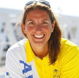 Daily Echo: Dee Caffari has become the only woman to have sailed around the world non-stop three times