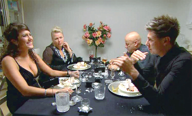 Celebrity come dine with me contestants