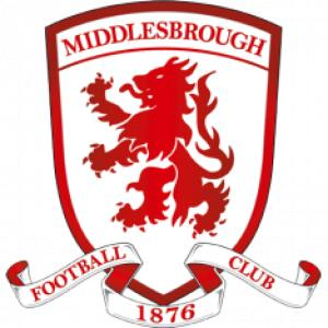 Football Team Logo for Middlesbrough