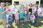 Families gather to show support as campaigners collect signatures at Paultons Park