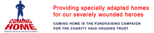 Daily Echo: Coming Home Campaign, run by the Haig Housing Trust and supported by the Southern Daily Echo.