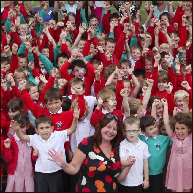 Hazel Wood Infant School in Totton are celebrating top marks in their Ofsted report.