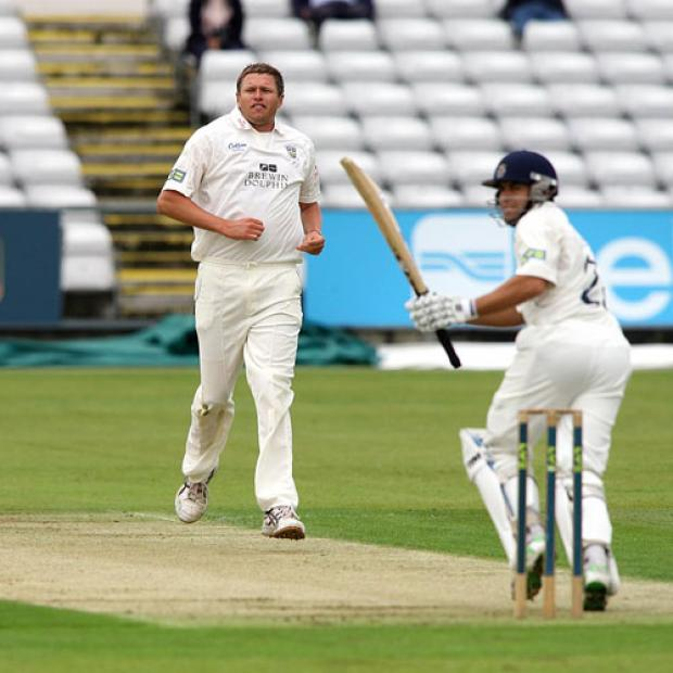 McKenzie the hero as Hants go top
