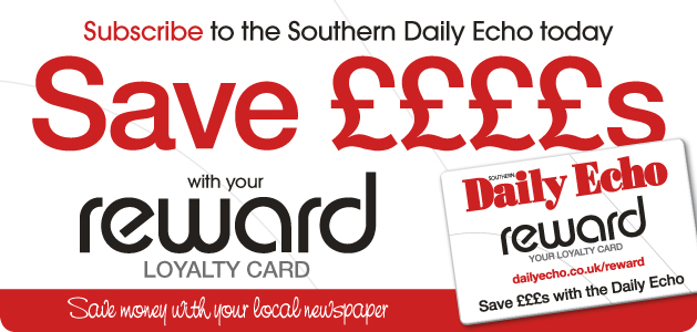 Daily Echo: Reward - Loyalty Card Header