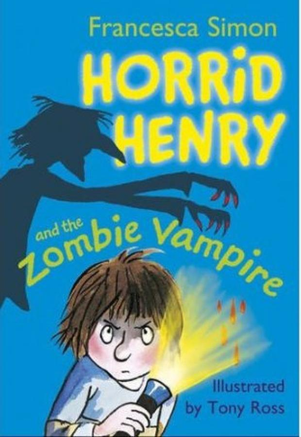 Horrid Henry and the Zombie Vampire .
