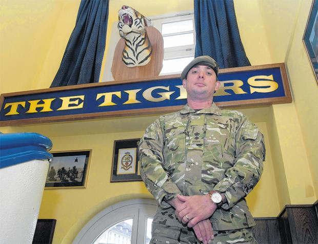 In their own words - Hampshire Tigers on the frontline