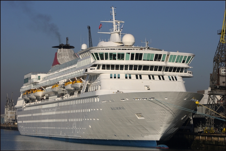 Delayed cruise ship Balmoral set to leave