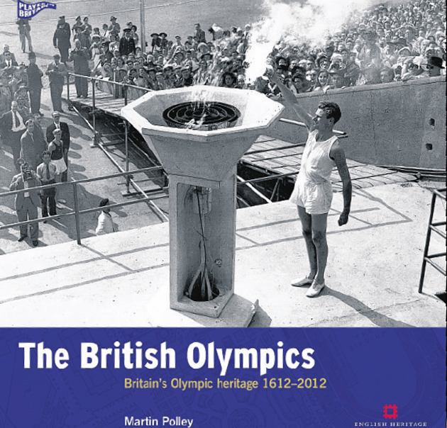 Daily Echo: Martin Polley's book on Britain's Olympic Heritage