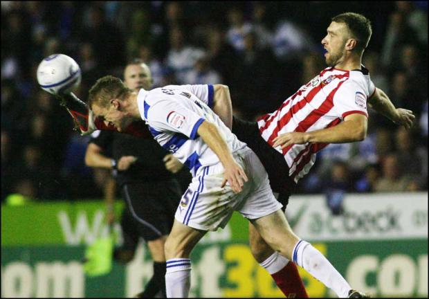 Saints in action against Reading earlier this season