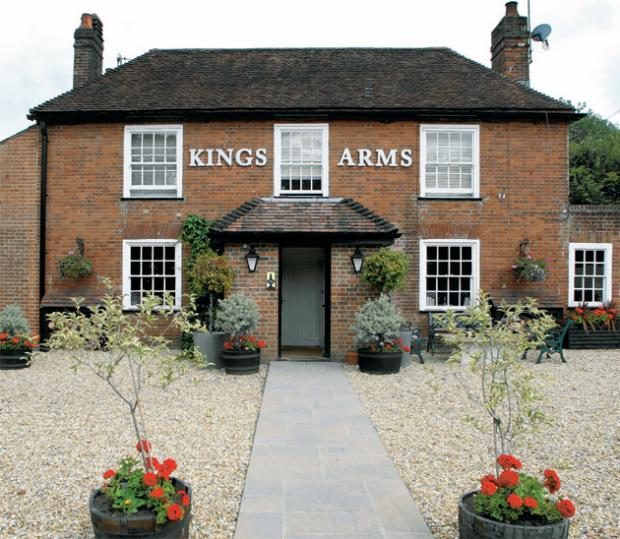 Kings Arms, Lockerley