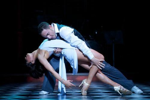 Vincent and Flavia in Midnight Tango