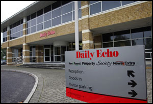 Daily Echo: Newspaper House, home of the Southern Daily Echo