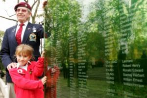 Walls of remembrance unveiled in Southampton