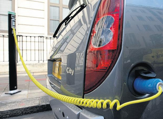 City's first electric car chargers to be installed today