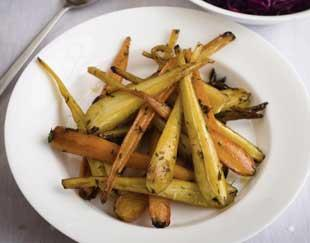 Honey Glazed Carrots and Parsnips