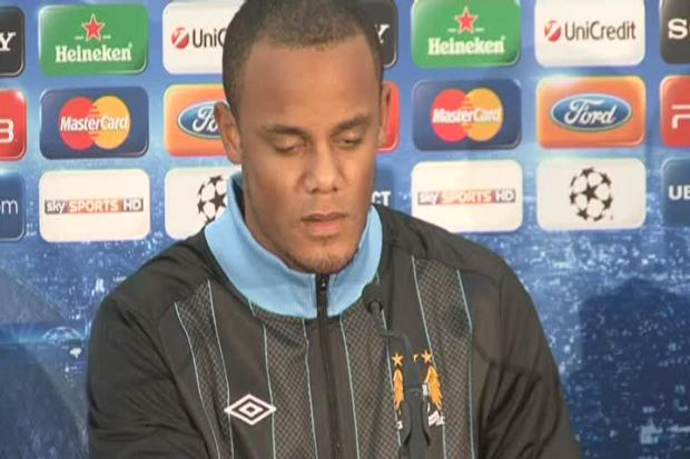 Vincent Kompany - out through injury