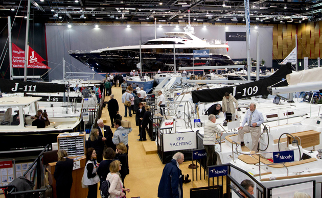 Royal Day for boat builder at London Boat Show