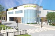 An artist's impression of the new Morrisons store in Souhampton