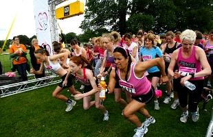 How to enter Southampton and Winchester Race for Life