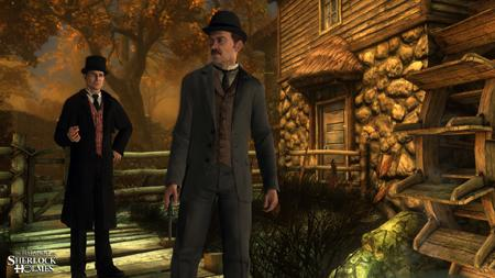 New Screenshots - The Testament of Sherlock Holmes