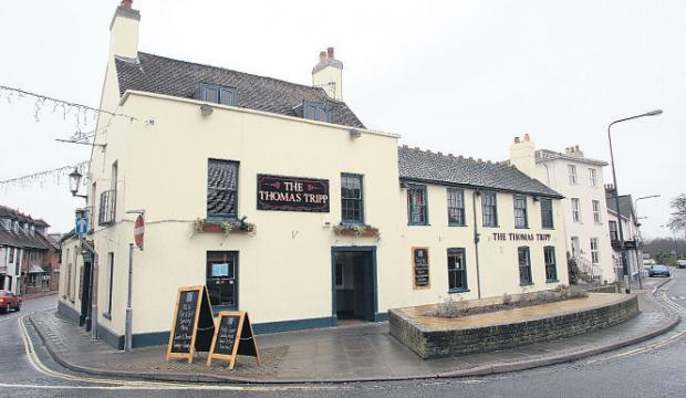 Daily Echo: The Thomas Tripp, Lymington