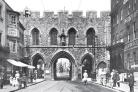 The bargate in 1908