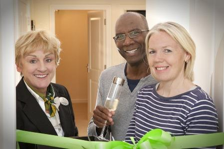 MOMENTOUS OCCASION AS FIRST RESIDENTS MOVE IN AT HOLLYBROOK LODGE