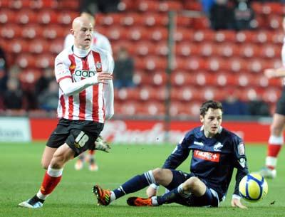 Picture from the FA Cupclash between Saints and Millwall at St Mary's Stadium. The unauthorised download, copying, editing or distribution of this image is strictly prohibited.