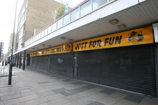 The Just For Fun store in Queen's Way, Southampton.