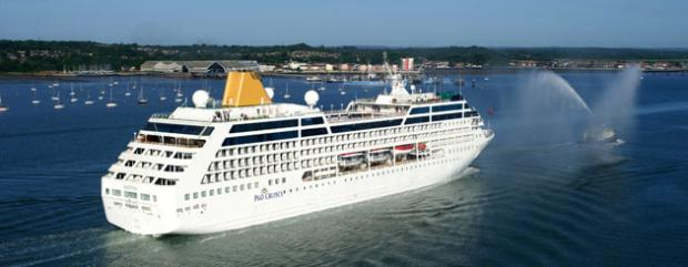 Adonia in Southampton Water