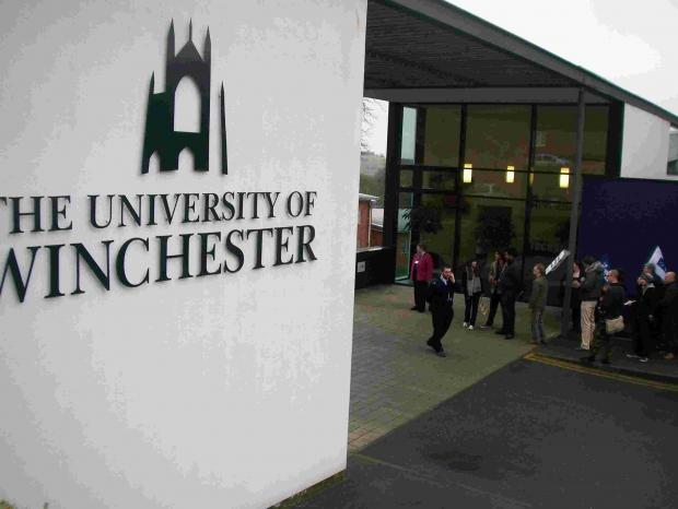 Winchester University is to hand out £10,000 more in scholarships.