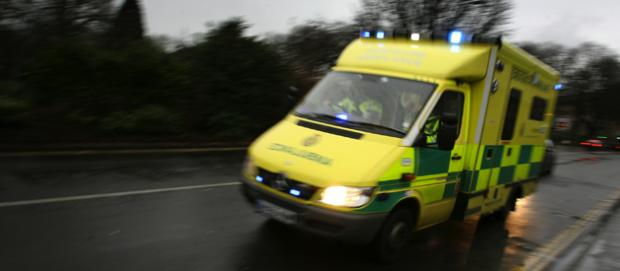 Man injured after fall from window