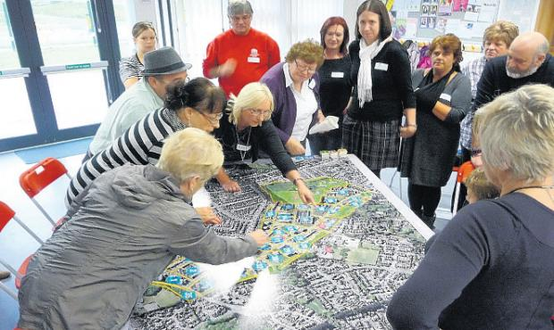 Townhill Park residents take a look at the plans