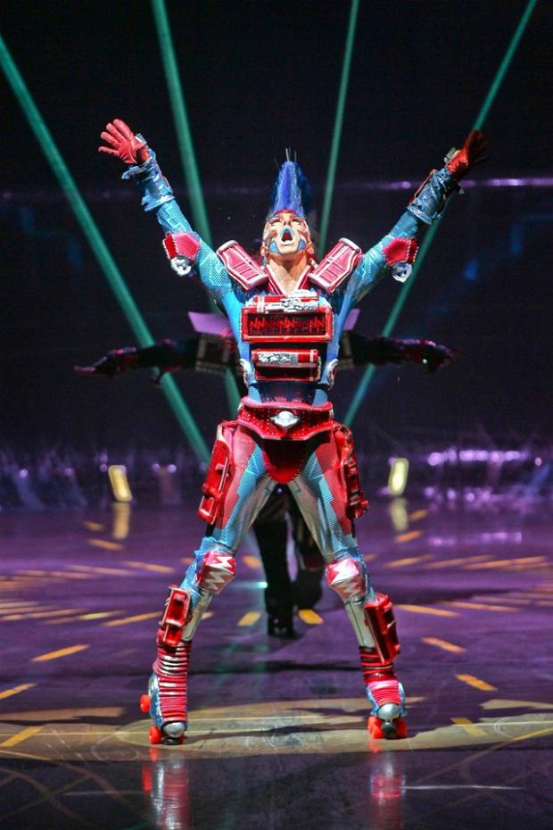 A scene from Starlight Express