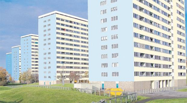 How the flats in International Way, Weston, Southampton, will look