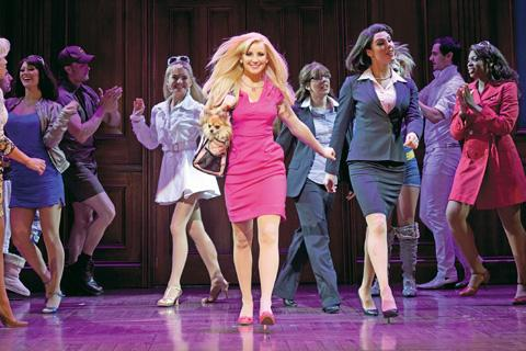 A scene from Legally Blonde