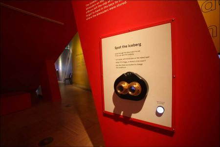 A first look at what is inside Southampton's new SeaCity Museum.
