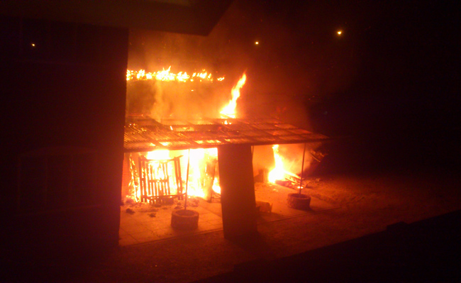 Arson attack puts pub plans on hold