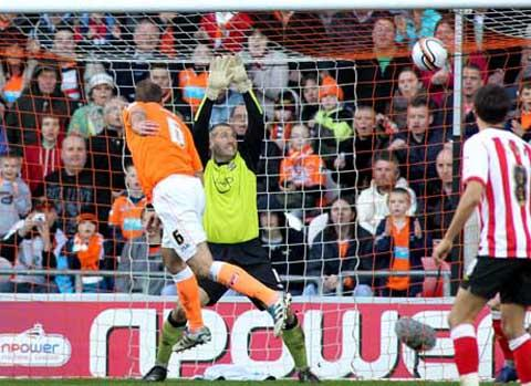Saints beaten at Blackpool