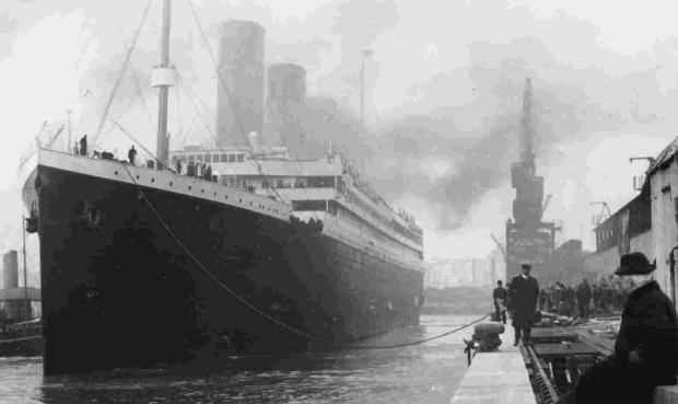 Daily Echo: Titanic leaving Southampton features on on