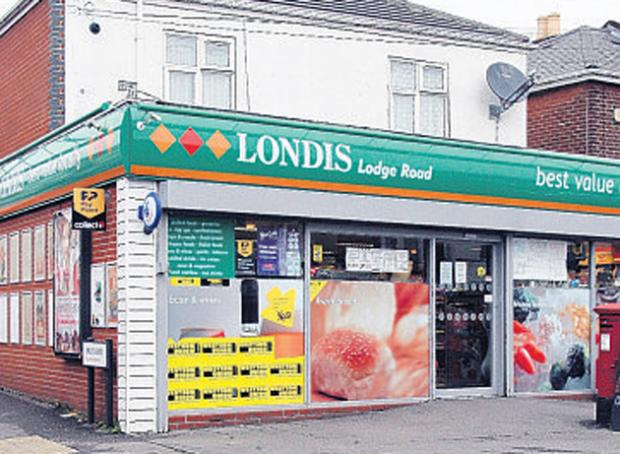 Londis in Lodge Road, Southampton