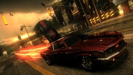 Screenshot from Ridge Racer: Unbounded.