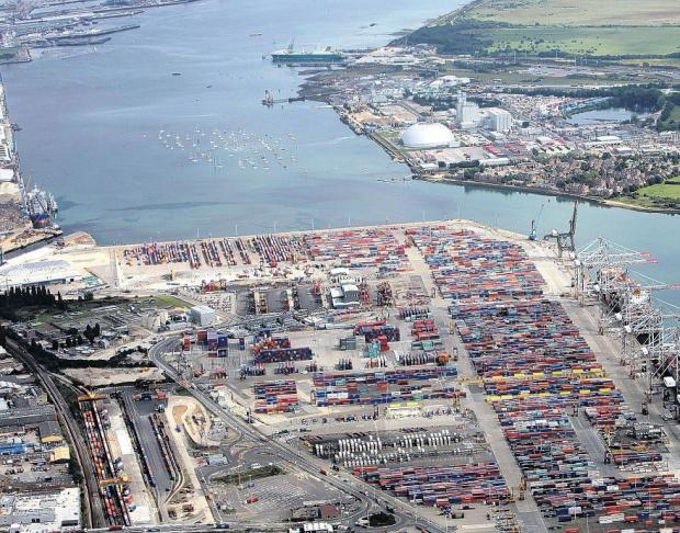 Daily Echo: Southampton Port.