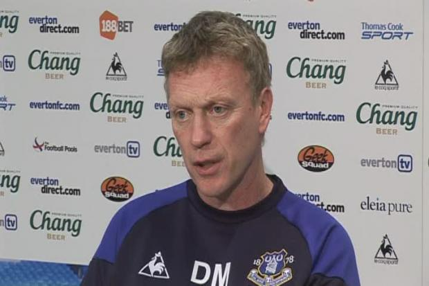 David Moyes previews Everton's Barclays Premier League match against Manchester United