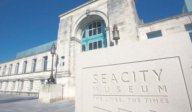 The new SeaCity Museum in Southampton.