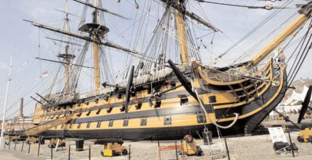 Daily Echo: HMS Victory