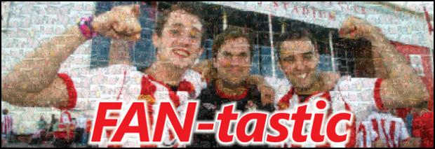Saints poster from the Daily Echo