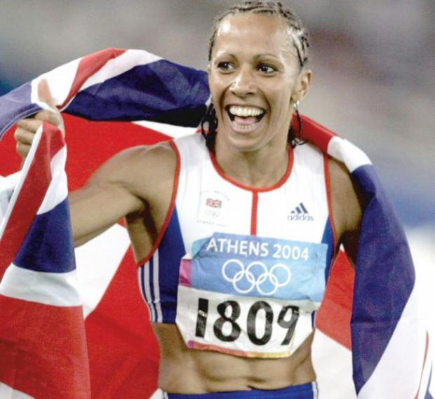 Olympic legend: Dame Kelly Holmes
